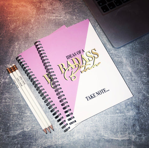 BADASS BITCH NOTEBOOK SET