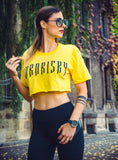 STREET SERIES: YELLOW CROP TOP