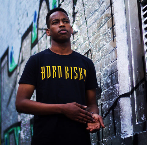STREET SERIES: BLACK X YELLOW T-SHIRT