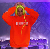 AFTER DARK: ELECTRIC ORANGE REFLECTIVE HOODIE