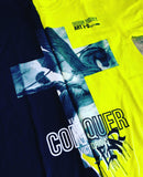 """CONQUER"" NEON T-SHIRT: CULTURE SERIES"