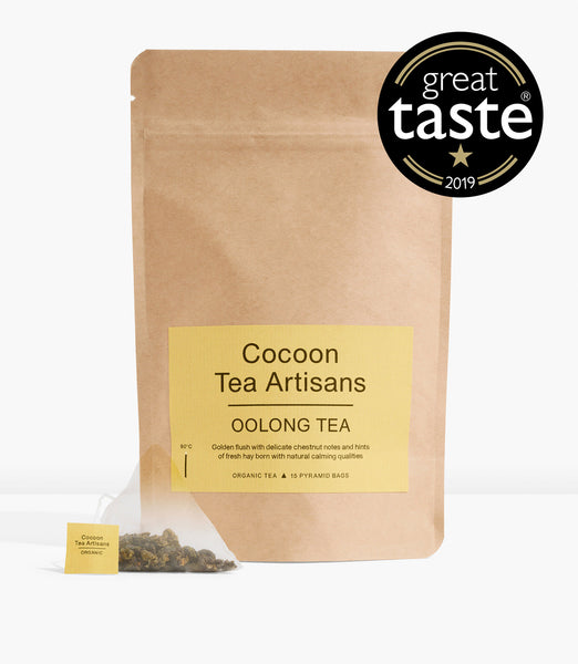 Refill Bag with 15 Oolong pyramid tea bags