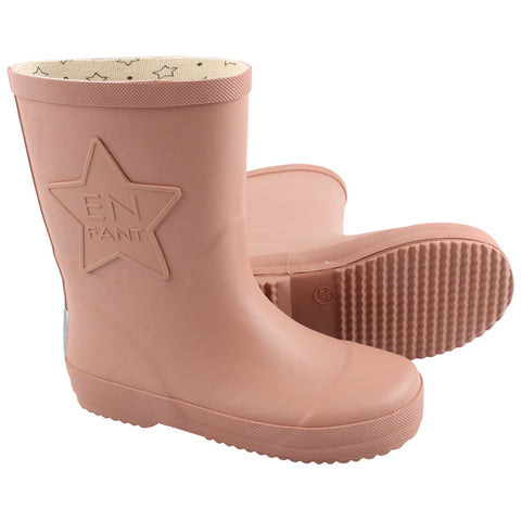 Rubber Boots Blush
