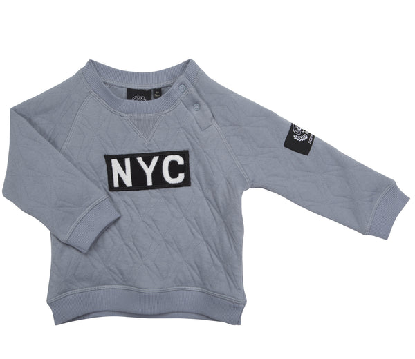 NYC-Sweatshirt Blau