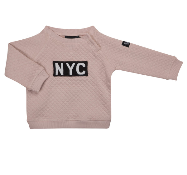 NYC-Sweatshirt Cameo Rose