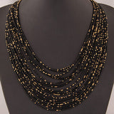Bohemian Bead Necklace for Women