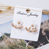 Trendy Bijoux Flower Earrings for Women
