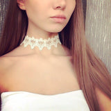 Lace Tattoo choker necklace - RogueDeals.com
