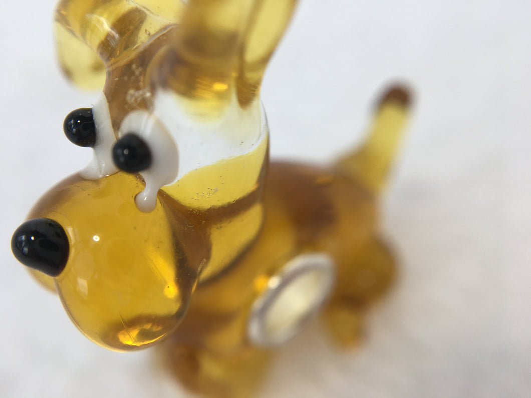 PUPPY TIME - European Lampwork Glass PUPPY/DOG Bead Quanity 1 Bead