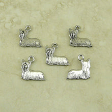 Chihuahua Silver Dog Charms