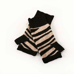 Zebra Wrist Warmers by {shop-name}