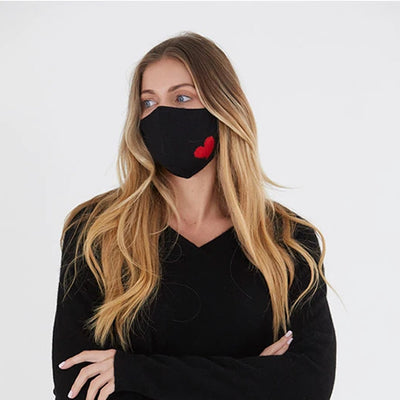 Brodie Heart Face Mask by {shop-name}