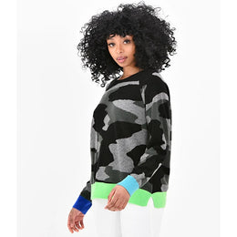 Contrast Neon Camo by {shop-name}