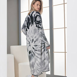 Florence Tie Dye Maxi Cardi by {shop-name}