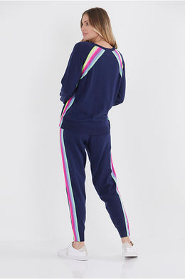 Faith Stripe Jogger by {shop-name}