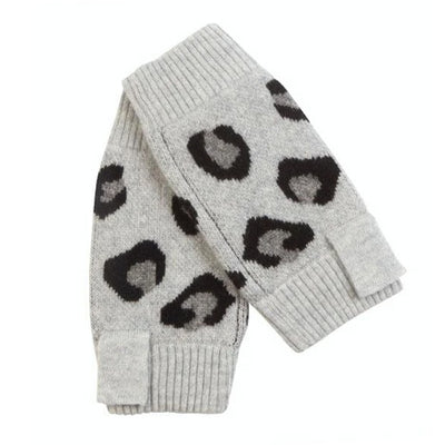 Leopard Wrist Warmers by {shop-name}
