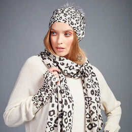 Leopard Print Wrist Warmers by {shop-name}