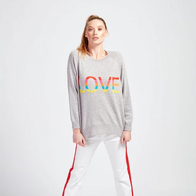 Love Rainbow Jumper by {shop-name}