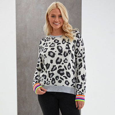 Lucis Leopard Sweat by {shop-name}
