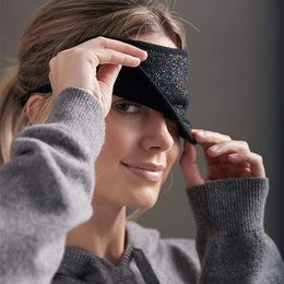 Lurex Eye Mask by {shop-name}