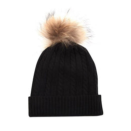Miss Cable Fur Hat