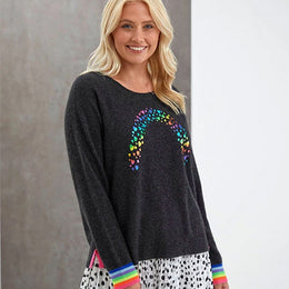 Over The Rainbow Foil Sweat by {shop-name}
