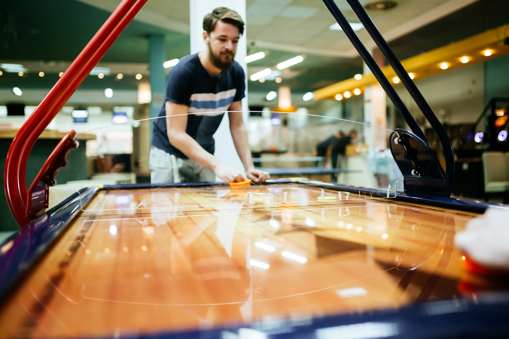 History and Rules of Dome and Air Hockey