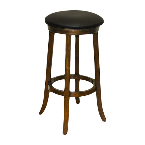 Imperial Bar Stool in Antique Walnut