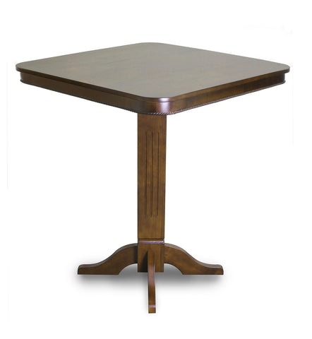 Imperial Pub Table in Antique Walnut