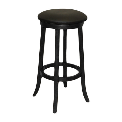 Imperial Bar Stool in Black