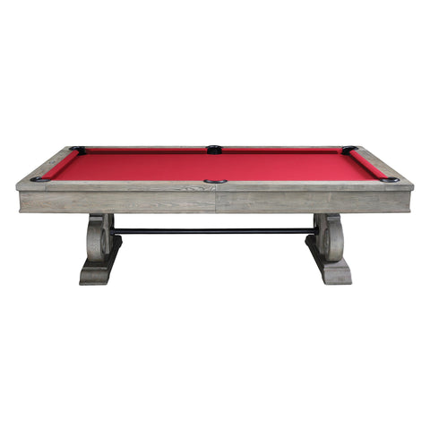 The Imperial Barnstable 8' Weathered Oak Pool Table
