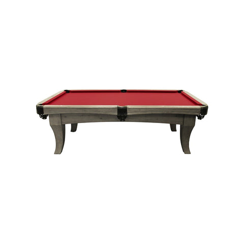 The Imperial Chatham 8' Weathered Oak Pool Table