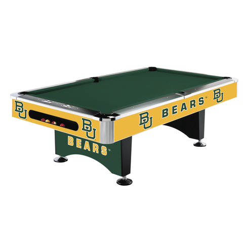 Imperial Baylor University 8' Pool Table
