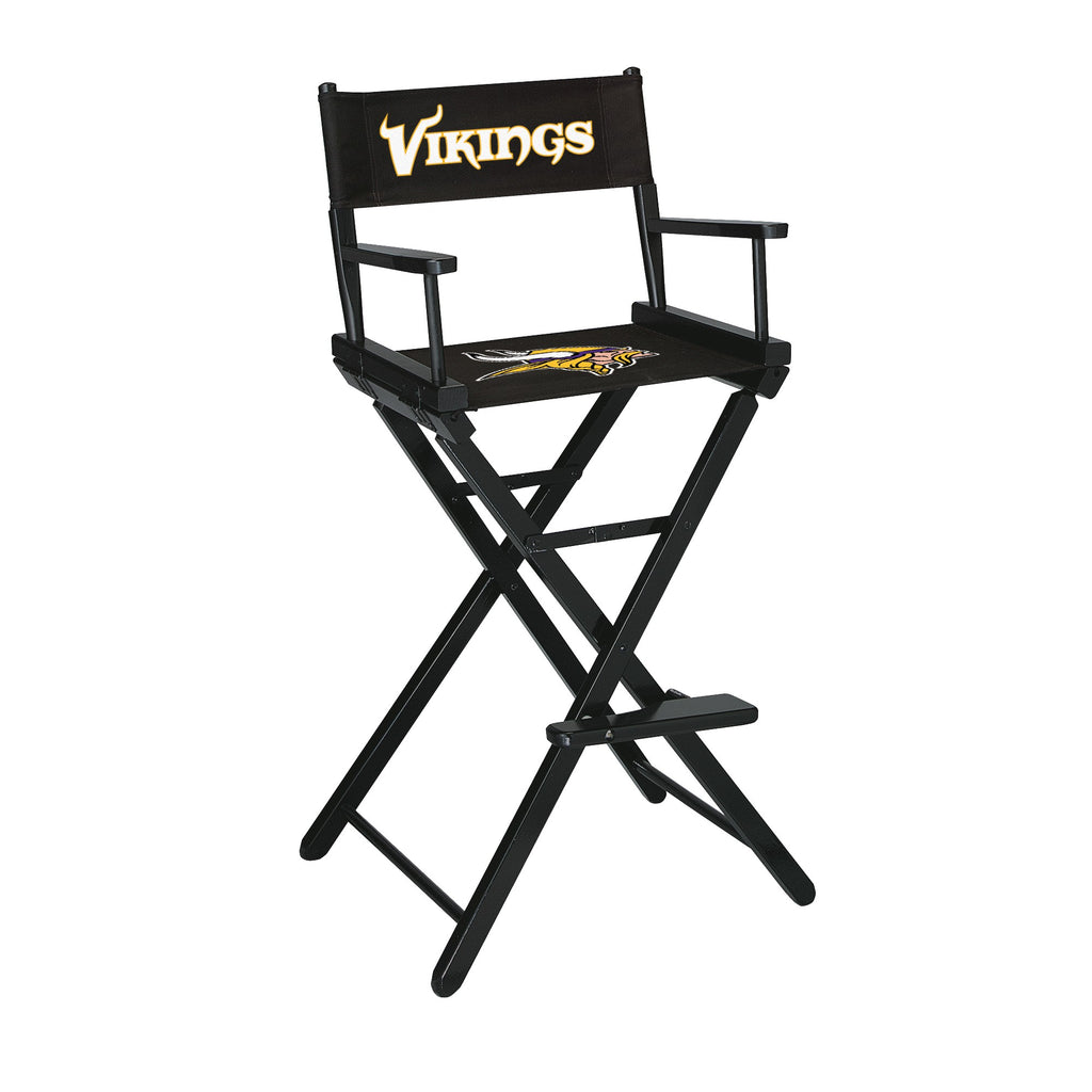 Imperial Minnesota Vikings Bar Height Directors Chair