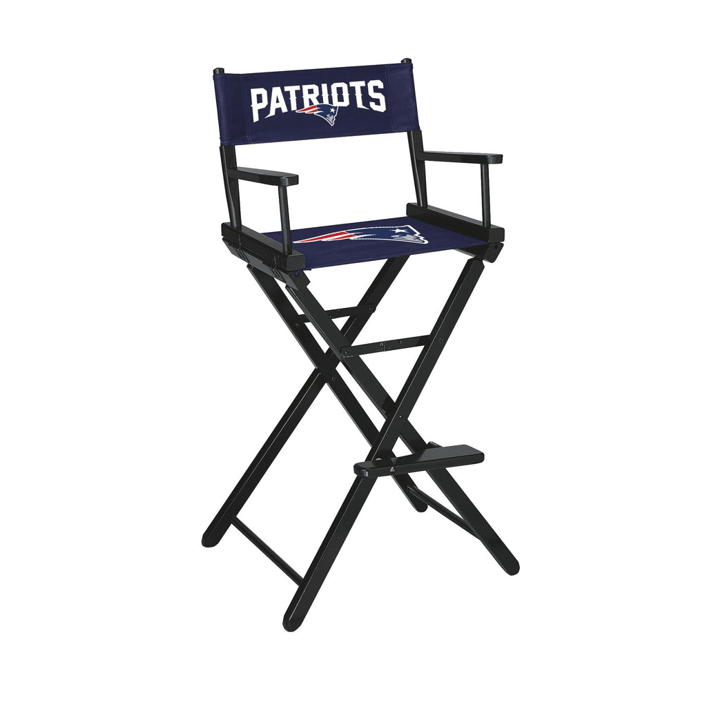 Imperial New England Patriots Bar Height Directors Chair