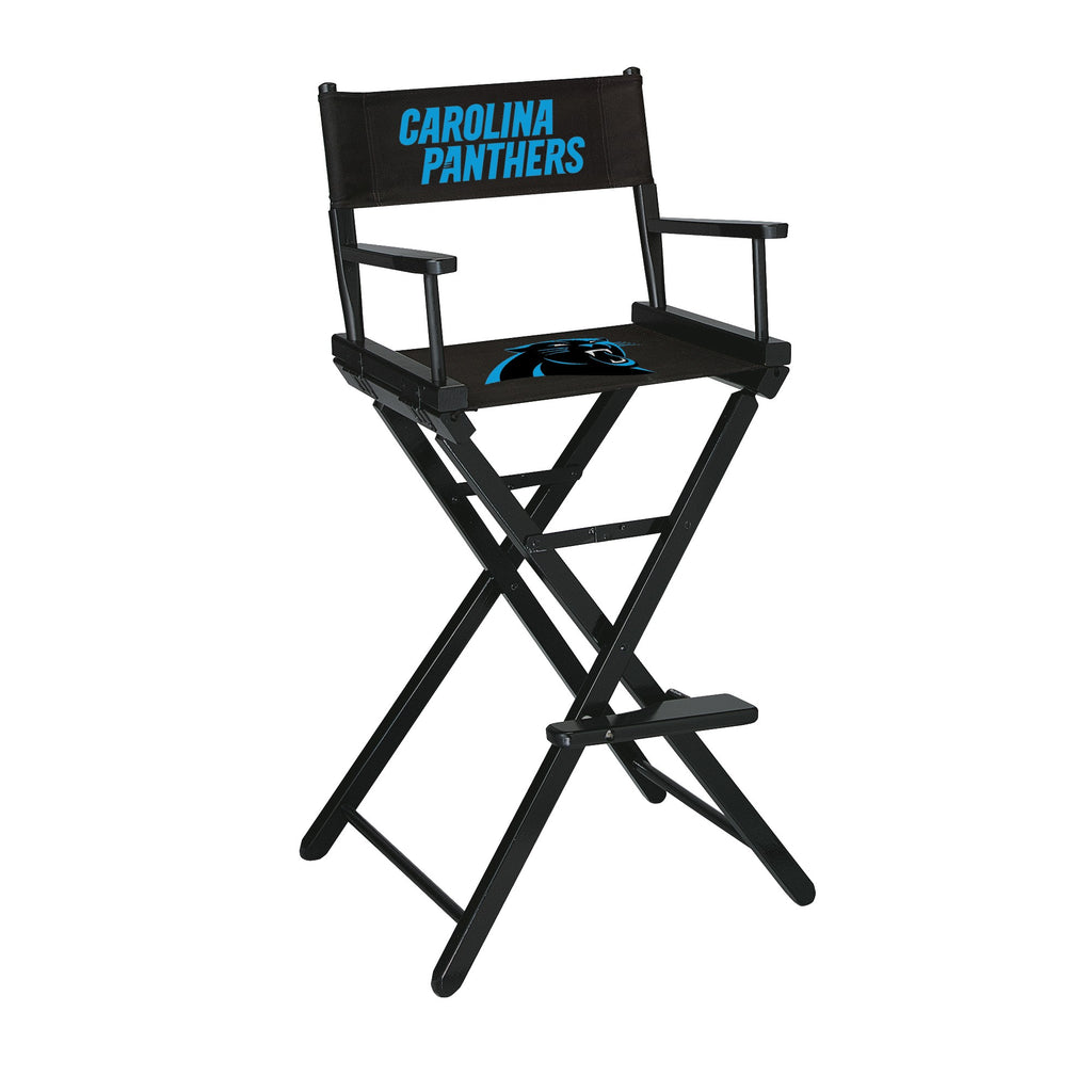 Imperial Carolina Panthers Bar Height Directors Chair