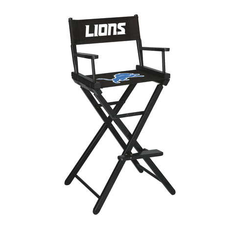Imperial Detroit Lions Bar Height Directors Chair