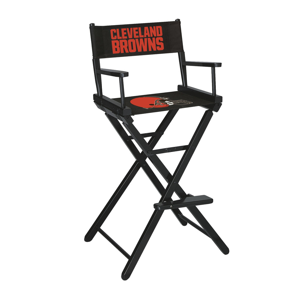 Imperial Cleveland Browns Bar Height Directors Chair