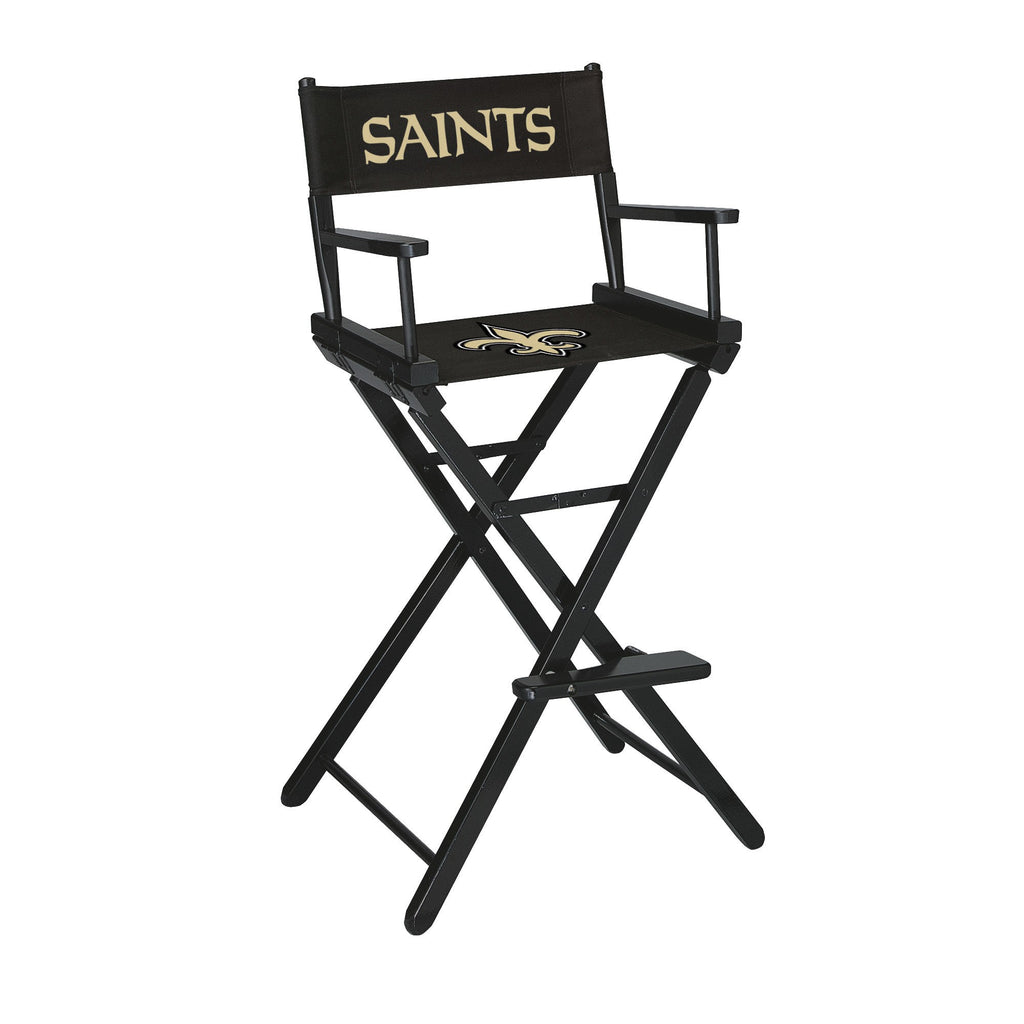 Imperial New Orleans Saints Bar Height Directors Chair