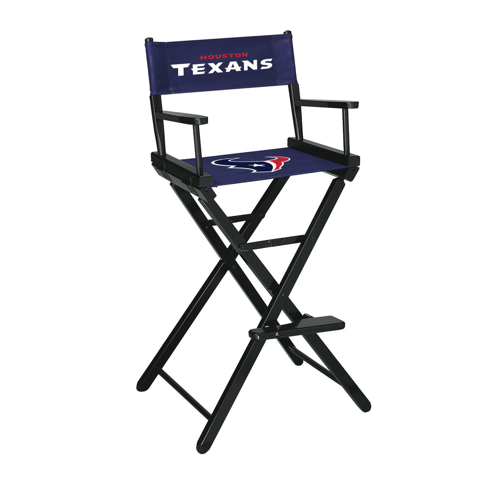 Imperial Houston Texans Bar Height Directors Chair