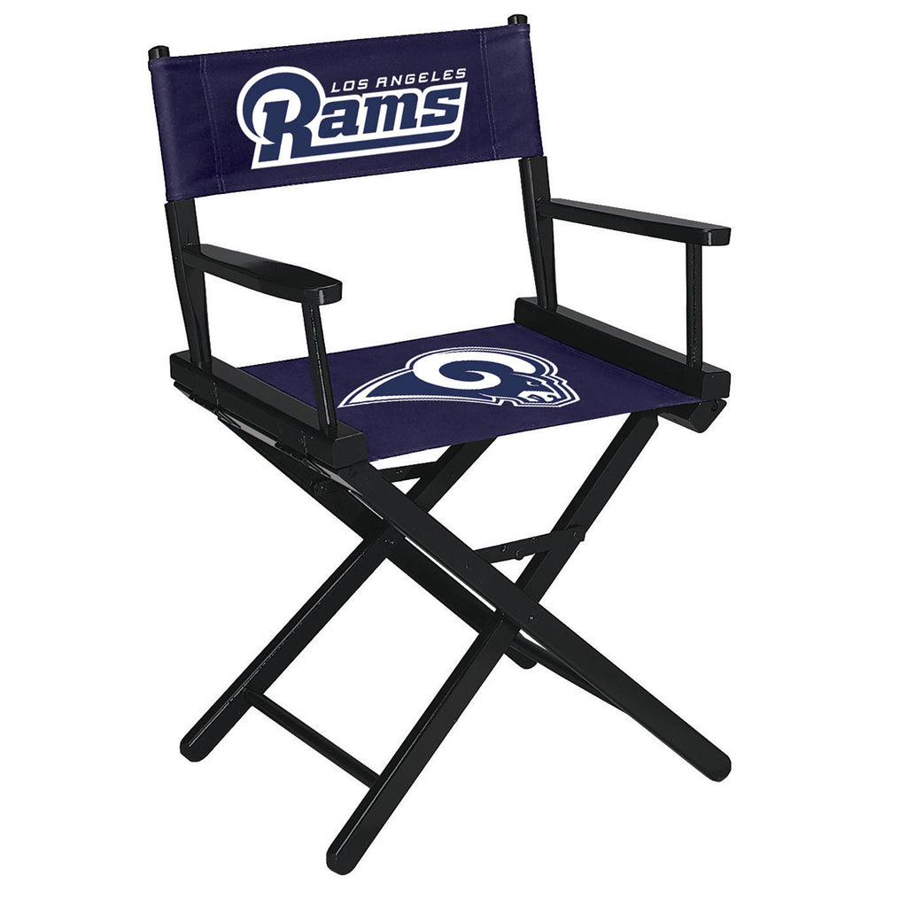 Imperial Los Angeles Rams Table Height Directors Chair