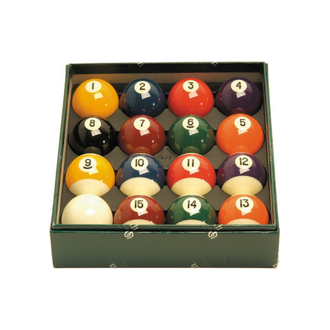 Aramith Premier 2 1/8-in. Billiard Ball Set