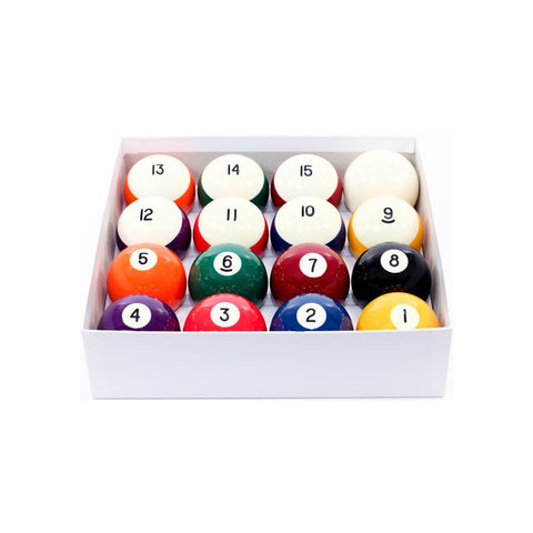 Aramith Crown 2 1/4-in. Billiard Ball Set for Coin Operated Tables