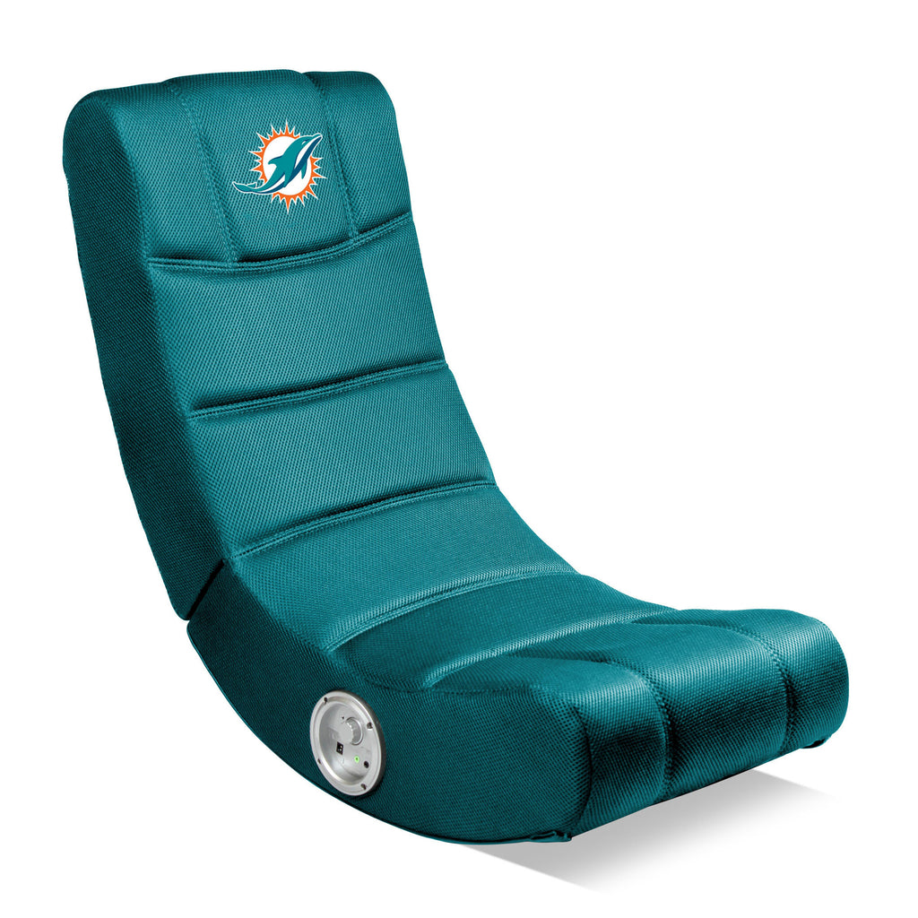 Imperial Miami Dolphins Bluetooth Video Chair