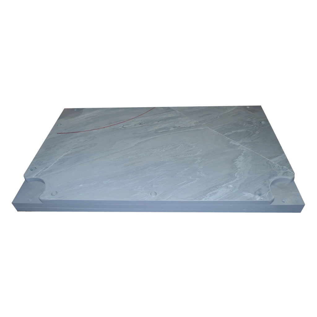 "Imperial 95"" X 51"" X 1"" Three Piece K Pattern Slate Bed"