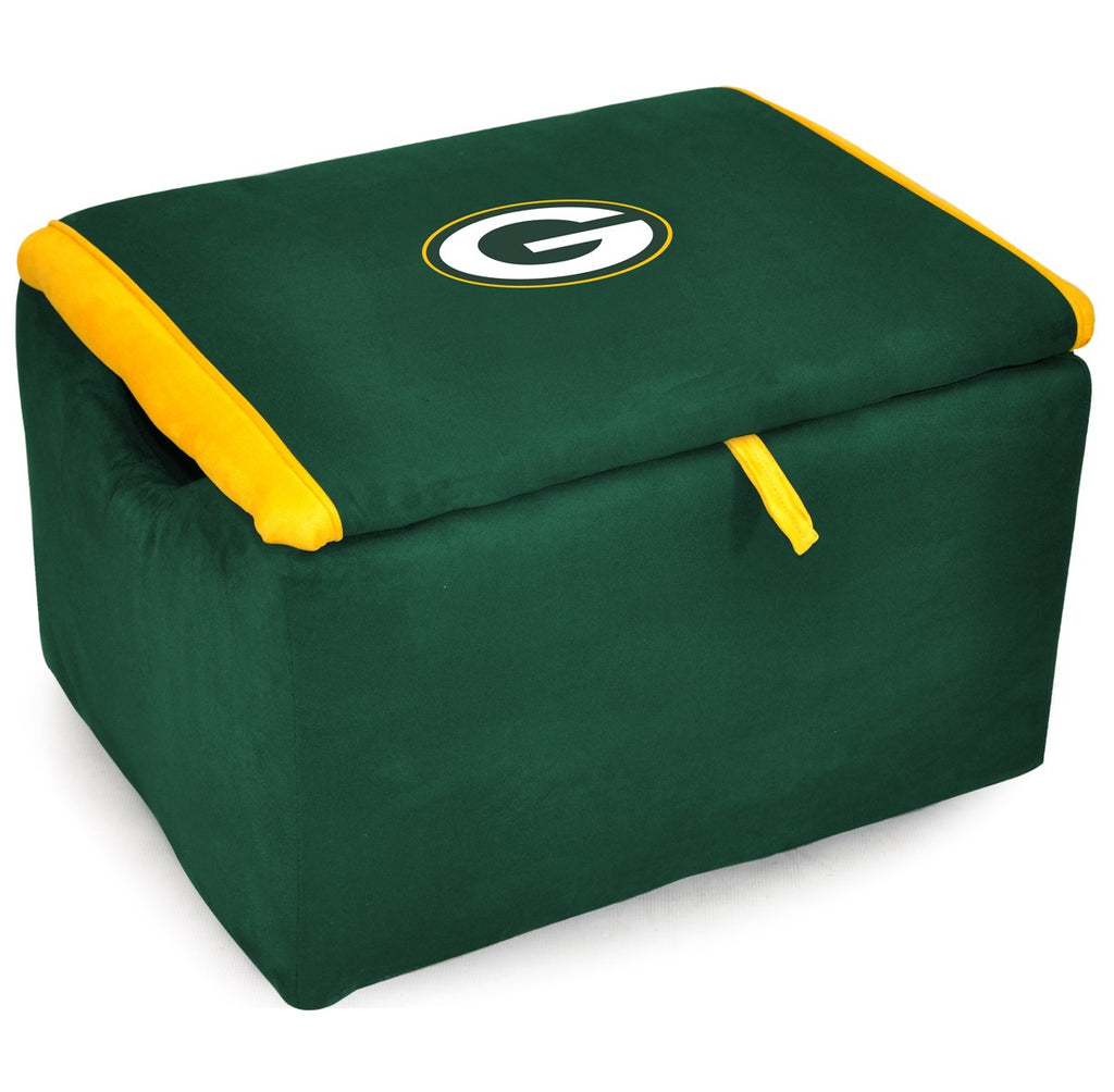Imperial Green Bay Packers Storage Bench
