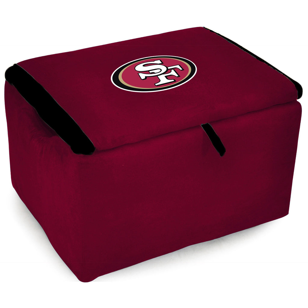Imperial San Francisco 49ers Storage Bench