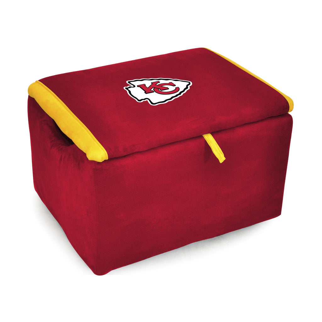 Imperial Kansas City Chiefs Storage Bench