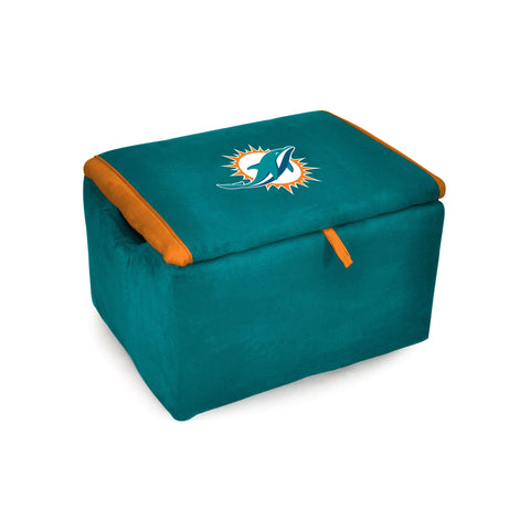 Imperial Miami Dolphins Storage Bench