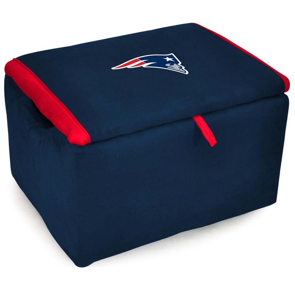 Imperial New England Patriots Storage Bench